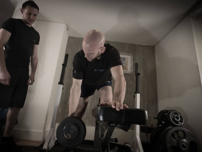 Online bespoke personal training