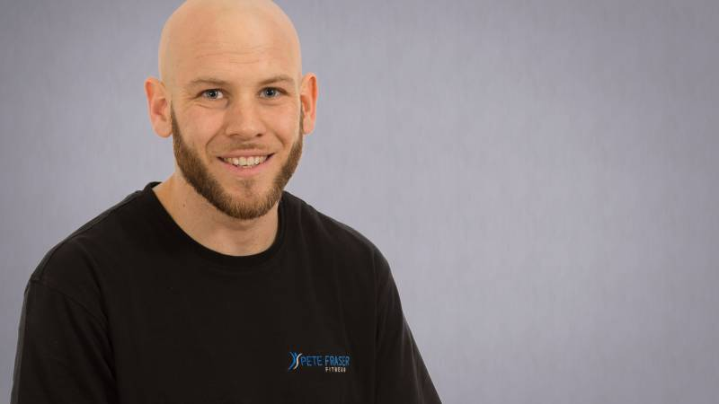 Alex Philip at Pete Fraser Fitness Mayfair