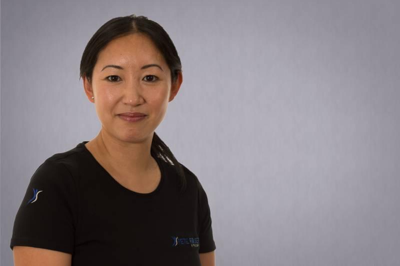 Kim Fraser-Smith at Pete Fraser Fitness
